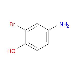 Nc1ccc(c(c1)Br)O