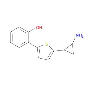 NC1CC1c1ccc(s1)c1ccccc1O