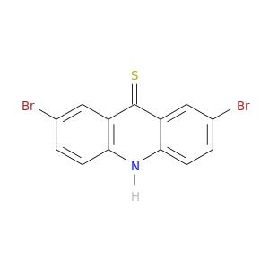 Brc1ccc2c(c1)c(=S)c1c([nH]2)ccc(c1)Br