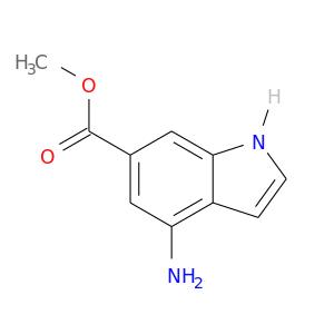 COC(=O)c1cc(N)c2c(c1)[nH]cc2
