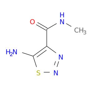 CNC(=O)c1nnsc1N