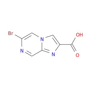 Brc1ncc2n(c1)cc(n2)C(=O)O