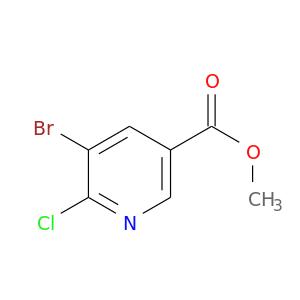 COC(=O)c1cnc(c(c1)Br)Cl