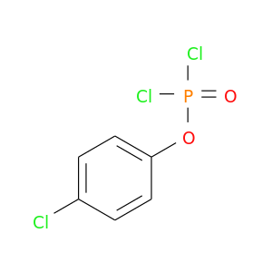 Clc1ccc(cc1)OP(=O)(Cl)Cl
