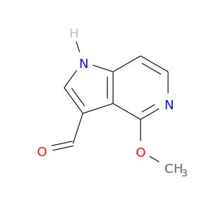 COc1nccc2c1c(C=O)c[nH]2