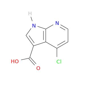 OC(=O)c1c[nH]c2c1c(Cl)ccn2