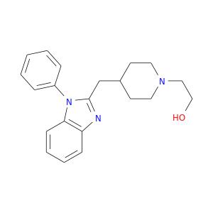 OCCN1CCC(CC1)Cc1nc2c(n1c1ccccc1)cccc2