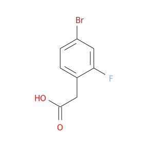 OC(=O)Cc1ccc(cc1F)Br