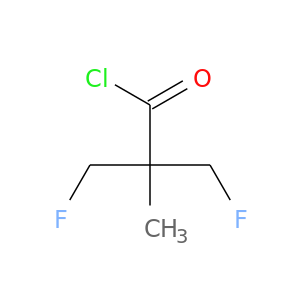 FCC(C(=O)Cl)(CF)C