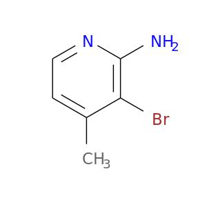 Cc1ccnc(c1Br)N