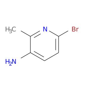 Brc1ccc(c(n1)C)N