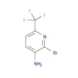 Nc1ccc(nc1Br)C(F)(F)F
