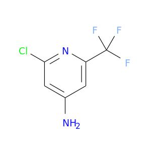 Nc1cc(Cl)nc(c1)C(F)(F)F