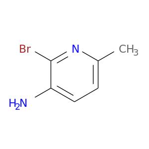 Cc1ccc(c(n1)Br)N