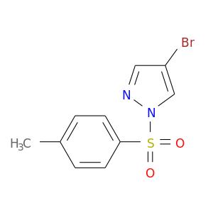 Cc1ccc(cc1)S(=O)(=O)n1ncc(c1)Br
