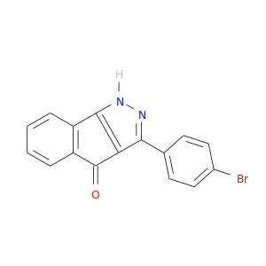 Brc1ccc(cc1)c1n[nH]c2c1C(=O)c1c2cccc1