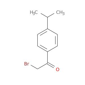 BrCC(=O)c1ccc(cc1)C(C)C