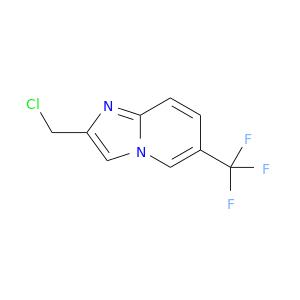 ClCc1nc2n(c1)cc(cc2)C(F)(F)F
