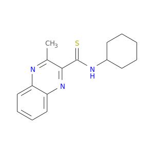 S=C(c1nc2ccccc2nc1C)NC1CCCCC1