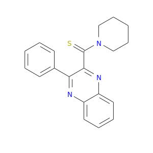 S=C(c1nc2ccccc2nc1c1ccccc1)N1CCCCC1