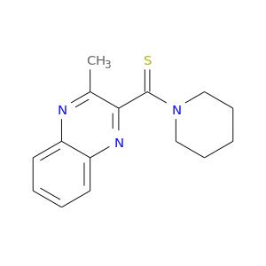 S=C(c1nc2ccccc2nc1C)N1CCCCC1