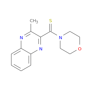 S=C(c1nc2ccccc2nc1C)N1CCOCC1