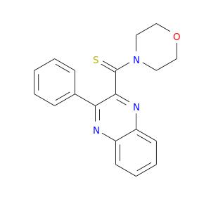 S=C(c1nc2ccccc2nc1c1ccccc1)N1CCOCC1