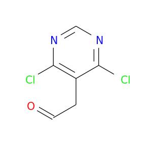 O=CCc1c(Cl)ncnc1Cl