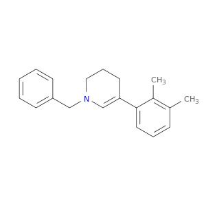 Cc1c(C)cccc1C1=CN(CCC1)Cc1ccccc1