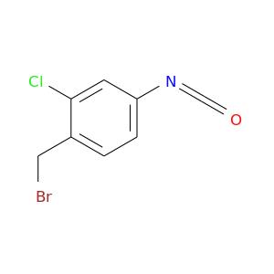 O=C=Nc1ccc(c(c1)Cl)CBr