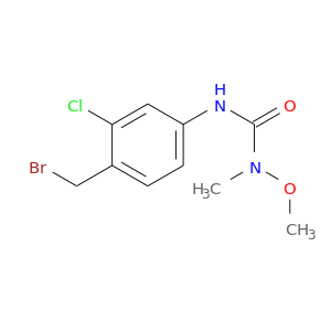CON(C(=O)Nc1ccc(c(c1)Cl)CBr)C