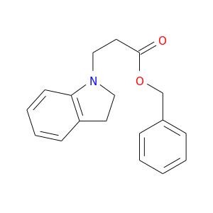 O=C(CCN1CCc2c1cccc2)OCc1ccccc1