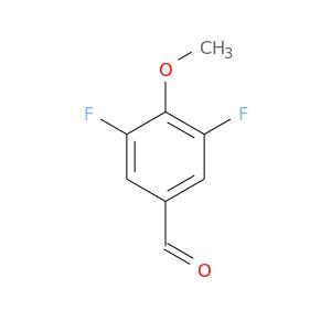 COc1c(F)cc(cc1F)C=O