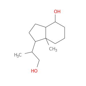 OCC(C1CCC2C1(C)CCCC2O)C