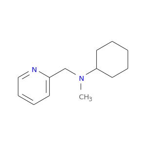 CN(C1CCCCC1)Cc1ccccn1
