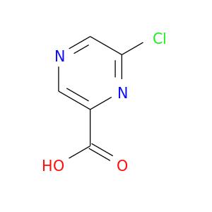 OC(=O)c1cncc(n1)Cl