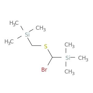 BrC([Si](C)(C)C)SC[Si](C)(C)C