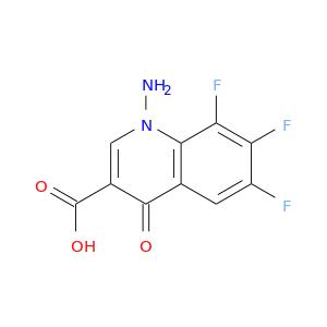 Fc1cc2c(=O)c(cn(c2c(c1F)F)N)C(=O)O