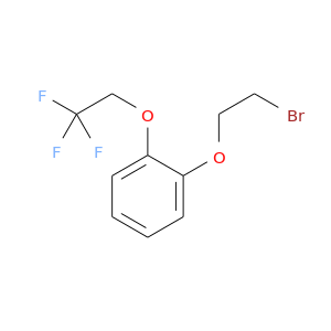BrCCOc1ccccc1OCC(F)(F)F