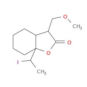 COCC1C(=O)OC2(C1CCCC2)C(I)C