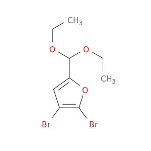 CCOC(c1oc(c(c1)Br)Br)OCC