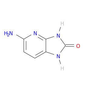 Nc1ccc2c(n1)[nH]c(=O)[nH]2
