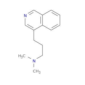 CN(CCCc1cncc2c1cccc2)C