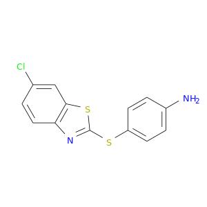 Nc1ccc(cc1)Sc1nc2c(s1)cc(cc2)Cl