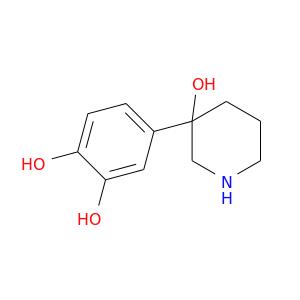 Oc1ccc(cc1O)C1(O)CCCNC1