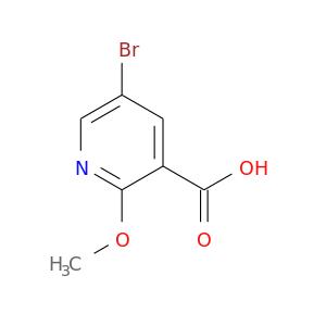 COc1ncc(cc1C(=O)O)Br