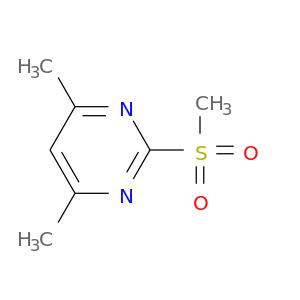 Cc1cc(C)nc(n1)S(=O)(=O)C
