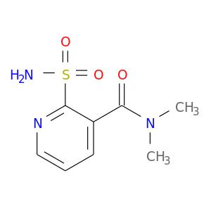CN(C(=O)c1cccnc1S(=O)(=O)N)C