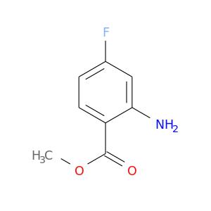 COC(=O)c1ccc(cc1N)F