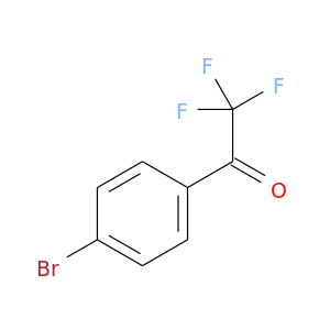 O=C(C(F)(F)F)c1ccc(cc1)Br